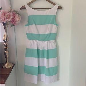 🎉Host Pick!🎉Mint & White Striped Dress